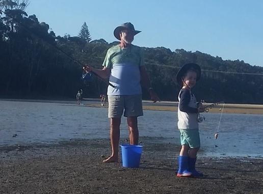 Fishing with Poppy J