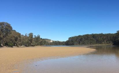 Woolgoolga lake