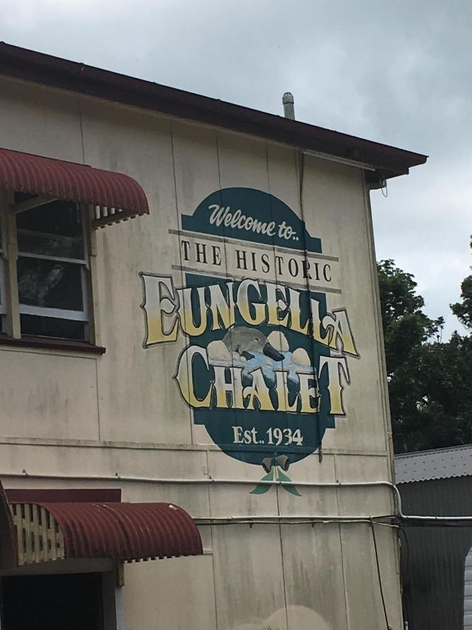 Lunch here at Eungella Chalet