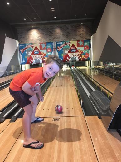 Ten Pin Bowling at Timezone