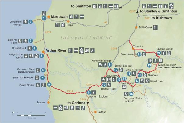 Tarlne-map