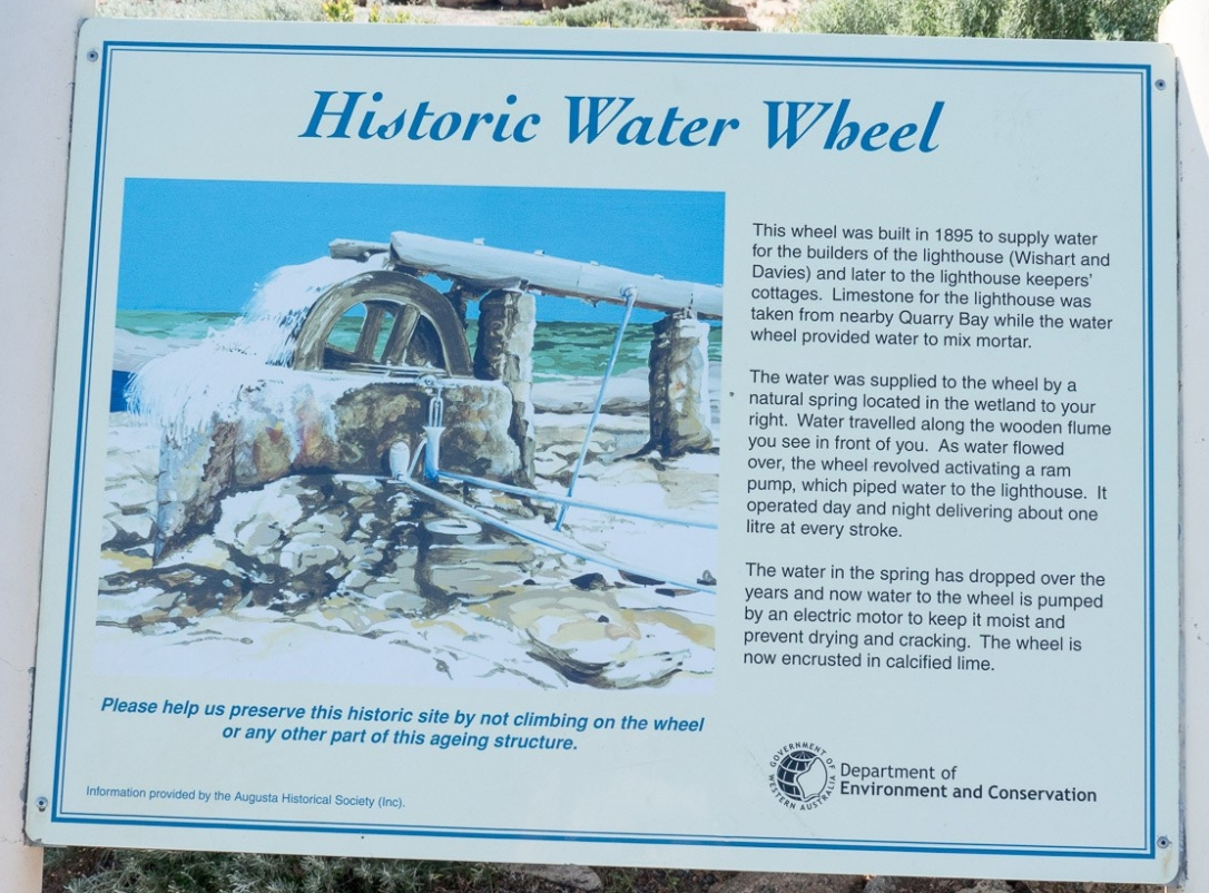 Water Wheel Historic Information